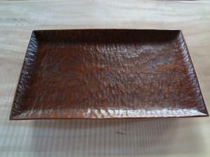 木の器 角皿