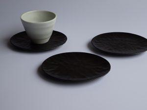 手彫りの茶托